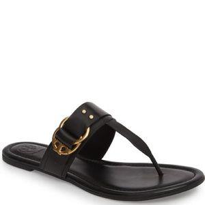 Tory Burch Marsden Flat Thong Sandals Size 5 New